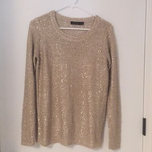 The Limited sequin sweater